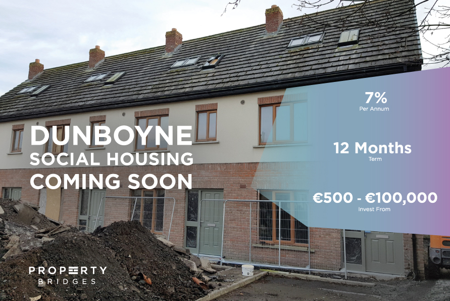 Dunboyne Social Housing promotional im used as an example for bridging finance