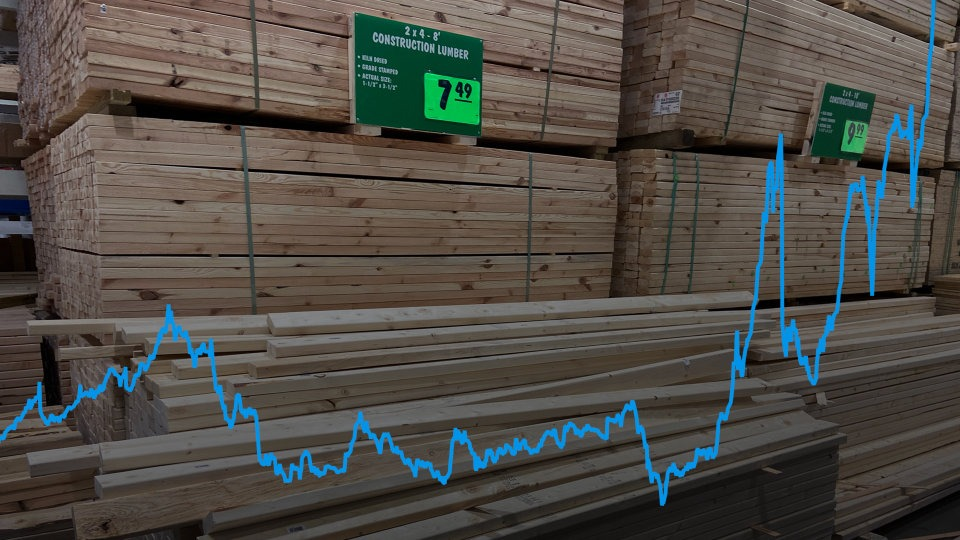 Read more about the article Timber Prices – Why Have They Gone Up and When Will They Come Down!